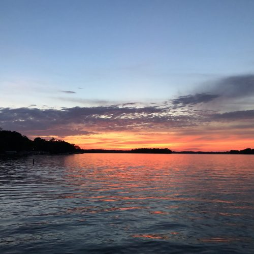 What A Beautiful Summer Sunset!